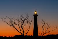 Cape Hatteras Lighthouse After Sunset