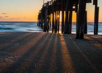 Morning at Avon Pier