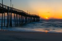 Sunrise at Avon Pier