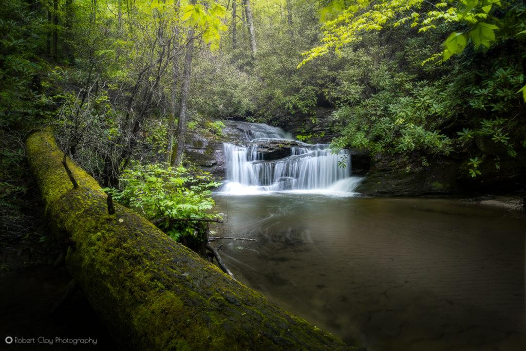 South Carolina Landscape Photography - Last Falls on Slickum Creek