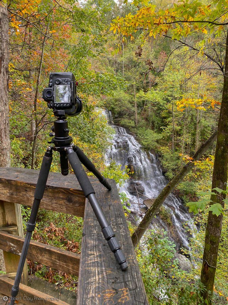Issaqueena Falls from the overlook