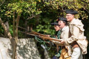 Living History at Walnut Grove Plantation